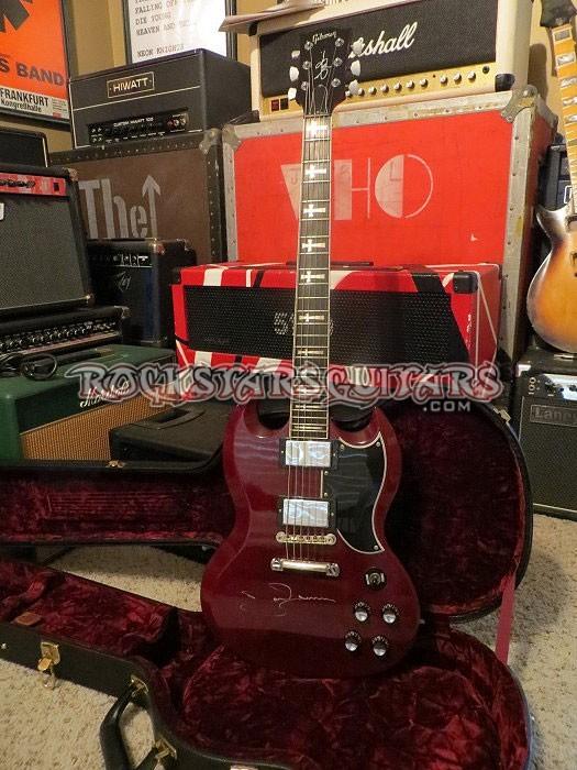 Tony Iommi Gibson Custom Shop Signature Model SG Signed