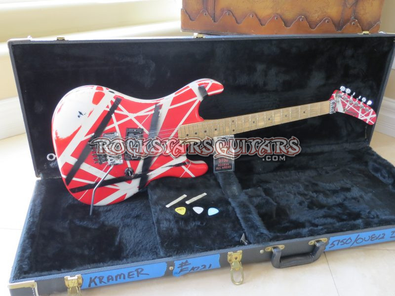 Eddie Van Halen S 3 Kramer Used On 5150 And Ou812 Tours Rock Stars Guitars