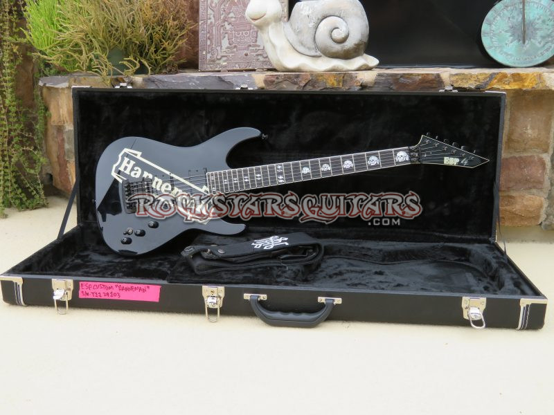 jeff hanneman 39 s esp hanneman rock stars guitars. Black Bedroom Furniture Sets. Home Design Ideas